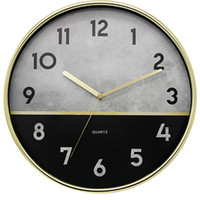 Nordic Wall Clock Living Room Modern Design Simple Quartz Wa...