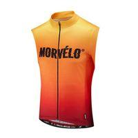 Equipo Morvelo Ciclismo Jersey sin mangas Chaleco de verano transpirable de secado rápido para hombres Ropa resistente al desgaste U52928