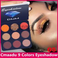 أحدث Cmaadu ماكياج عينيه لوحة 9 لون الماس الترتر لامعة بريق العين يشكلون 5 أنماط