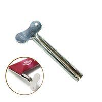 Badezimmer Zahnpastaspender Edelstahl-Schlüssel-Form Haar Farbteig Squeezer Dispensers Metallwerkzeug Praktische neue Ankunfts-0 99jy E1