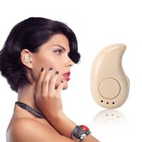 Colorido Bluetooth Auriculares inalámbricos Bluetooth S530 Sport auriculares auriculares estéreo de auriculares invisible para Samsung LG del teléfono inteligente Moto