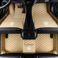 3D de luxe personnalisés Tapis de voiture pour VW Tiguan Tiguan L Touarge Teramont Touran Touran L Sharan Auto Tapis de sol voiture Tapis Alfombrilla Coche