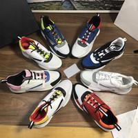 2020 B22 Sneaker Calfskin Chaussures Hommes Designer Vintage Chaussures de sport en toile et en cuir vachette Formateurs Luxe Rétro unisexe Low Top Chaussures Femmes Casual