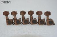 Ostrlch parafango Vintage Style Bronze Chitarra Tuning Pegs Tuner Machine Head 6R all'ingrosso parafango parafango stratocaster parafango