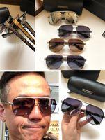 جديد الرجال الرجعية شعبية مصمم النظارات الشمسية VERT أسلوب فاسق الرجعية إطار مربع مع مربع من الجلد طلاء عاكسة المضادة للأشعة فوق البنفسجية عدسة أعلى جودة
