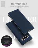 DD Leather Flip Case For Galaxy S10 5G S10e S10+ S9 Note9 M3...