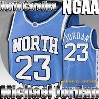 NCAA Kuzey Carolina 23 Michael Jersey MJ Dwyane 3 Wade Allen 3 Iverson Jersey Jimmer 32 Fredette Koleji Basketbol Forması