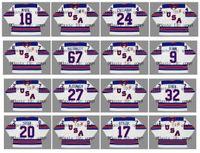 2010 2014 2016 Vintage Team USA Trikot 81 PHIL KESSEL 39 RYAN MILLER 7 BRADY TKACHUK 23 BROCK BOESER 4 JOHN CARLSON 19 CLAYTON KELLER Hockey
