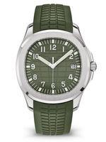Mode Sports de luxe Montre à quartz Caoutchouc de quartz Militaires Horloge imperméable Horloge Montres Top Swiss Black Bleu Green Montre Reloj de Lujo