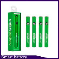 Smart Cart Battery Vape Pen 510 Fadenpatronen 380mah Variable Spannung Vorwärmen Smartcart-Batterien mit USB-Ladegerät 0266267