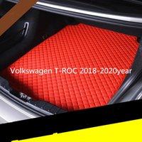 Volkswagen T-ROC 2018-2020year araç kaymaz paspas Özel kaymaz deri araba bagajı paspas paspas uygun
