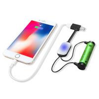 Yeni ADEASKA A10 Li-ion Piller için 18650 Pil Şarj İşlevli Manyetik USB Şarj Mini Şarj / Boşaltma Güç Bankası