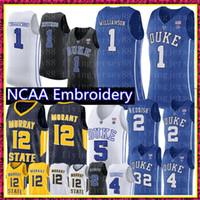 NCAA JA MORANT MURRAY Eyaleti Koleji Gerçek 1 Zion Williamson RJ Barrett 5 Cameron Reddish 2 Duke Mavi Şeytanlar 4 J.J Redick 32 Laettner Formalar