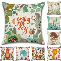 special for the new Thanksgiving Pillow Cover Cartoon Jungle...