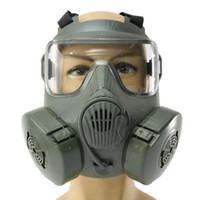 3 interface Full Face Mask Respirator Gas Mask Dust With Dua...
