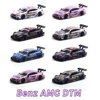 جديد 1: 43 AMG C63 Dtm سباق السيارات سبيكة Diecast سيارة نموذج طلاء السيارات Diecaste Vehicles For Birthday Kids عرض Plays BoxExport Package