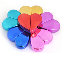 I migliori prodotti per la Cina Flacone spray cosmetico in metallo Amore a forma di cuore Bottiglie di profumo Vendita calda 3 6yj Ww