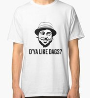 The Snatch Dya Like DAGS Micky Men' s White Tees Shirt C...