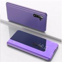 Pour Samsung Note20 Ultra Remarque 10 Mirror PHOTO PHOTO PLOP KICKSTS Coque de téléphone pour Samsung S21 S20 Plus S20 Fe S10E