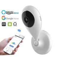 HD 720P WiFi-Kamera drahtlose IP-Netzwerk-Überwachungs-Kameras Smart-Leben Kompatibel mit Alexa Echo Show und Google-Startseite