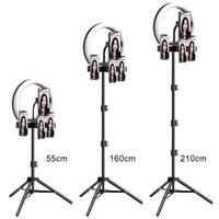 M26 10 polegadas LED Selfie Selfie Light com Tripé Stand para Live Stream Youtube Tiktok Vlog Dimmable LED Camera Beauty Ringlight