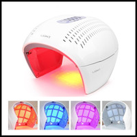 DHL LED-Gesichtsschablone Photon Light Energy Lamp Gesichtspflege Beauty Machine Haut Home Use Schnell versendet
