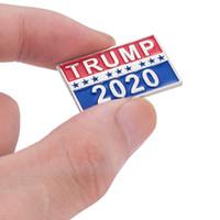 Nuovo di spille Trump 2020 lettere dello smalto partito delle donne Spille per i regali di favore spilla uomini del metallo di modo risvolto distintivo Pins Jewelry