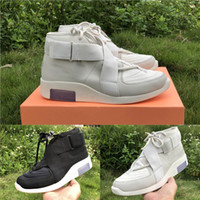 With Box Air Fear of God 1 Raid Moccasin Boots Fashion Desig...