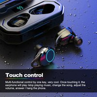 Wireless Auricolari X6 pro nero auricolari impermeabili Exchangable Earplug con ricarica di sicurezza multi-funzionale di Smart LED Touch Control