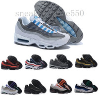 nike air max 95 airmax Homens Mulheres What The Running Shoes OG Neon Grape Triplo Black White TT Universidade Red Moda Air instrutor desportivo Sneakers Tamanho 36-46 HJ954