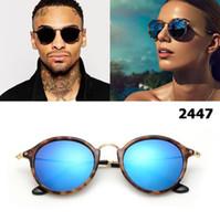 Nova 2018 clássico Vinatge Moda rodada style óculos de sol das mulheres dos homens Brand Design Sun Óculos Óculos de Sol Óculos