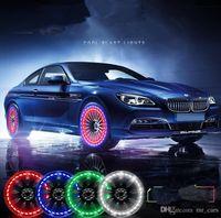 Automobiles & Motorcycles Vehemo Solar Energy Car Auto Led Flash Light Wheel Valve Stem Tire Motion Neon Light Car Lights
