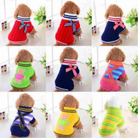 Pet sweater dog navy sweater VIP clothes autumn and winter s...