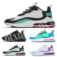 Nike Air Max 270 React 2020 New react men running shoes BAUHAUS HYPER JADE reaja OPTICAL fashion Men trainer respirable sports sneakers Tamanho 36-45 p05