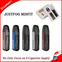 Kit borraccia Justfog MINIFIT originale al 100% Batteria 370mAh baccello ministilo Fit 1.5ml AIO Vape Kit originale
