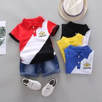Baby Clothes Summer Boys Clothing Sets Fashion Cotton T- shir...