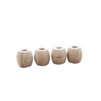 Base di bambù naturale dello spazzolino da denti Ambiente all'ingrosso Supporto di spazzolino da denti di bambù Supporto Accessori da bagno Trasporto veloce all'ingrosso ZC0627