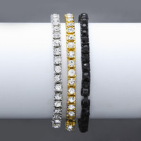 5mm 7- 9 inch Miami Cuban Link Chain Bracelets for Mens Bling...