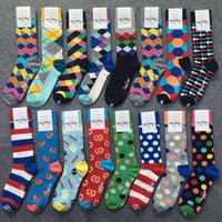 High Quality Brand Happy socks for Men&Women British Style P...