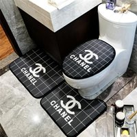 Fashion Three Pieces Toilet Seat Covers INS Style Home Indoo...