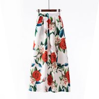 Womens Floral Retro Folds Skirts Various Options Print Ladie...