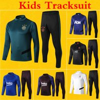Survetement Kids Tracksuit 2020 SALAH Barcelona Man Ajax Par...
