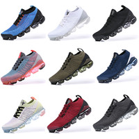 New Arrival VPM 2019 Fly Mens Women Running Shoes Triple Bla...