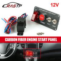Zündschalter 12V Panel Motor Start Taster Taste Toggle Racing Car DIY Auto Modifikation Teile für Rennstil Autos RS-Bov005