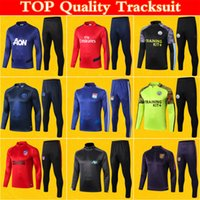 Mens Survetement Foot Manchester Gunner Atletico Man City Tr...