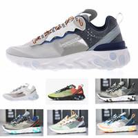 2019 free run reagem elemento 87 55 Sneaker disfarçado para Mulheres Dos Homens Amante de Corrida Calçados Esportivos
