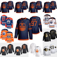 Edmonton Oilers 2019-2020 terzo Jersey 97 Connor McDavid leon draisaitl Zack Cassiano Darnell Nurse Oscar Klefbom Nugent-Hopkins