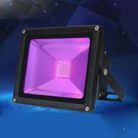 10pc 20W 30W 50W UV LED Floodlight Ultra Violet LED Flood Light IP66-Waterproof For Blacklight Party Neon Glow Dark Poster Aquarium