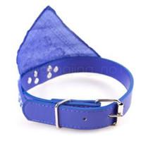 Collar ajustable Pañuelo Bufanda animal doméstico del perro del gato Pañuelo bufanda del triángulo collares para gatos perrito del collar collares AAA1773-1 Moda