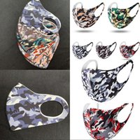 Camo Mask Adults Ice Silk Camouflage Breathable Foldable Mou...